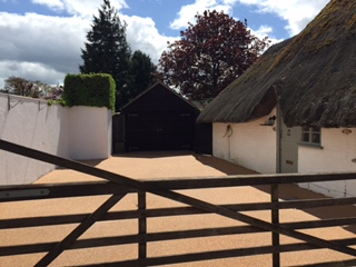 corner cottage after
